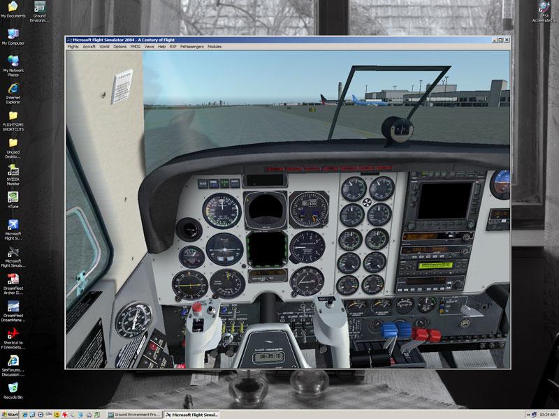Archer III + GEPro2, scrambled gauges - SimForums com Discussion