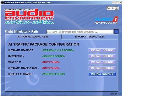 Audio environment install problem - SimForums com Discussion