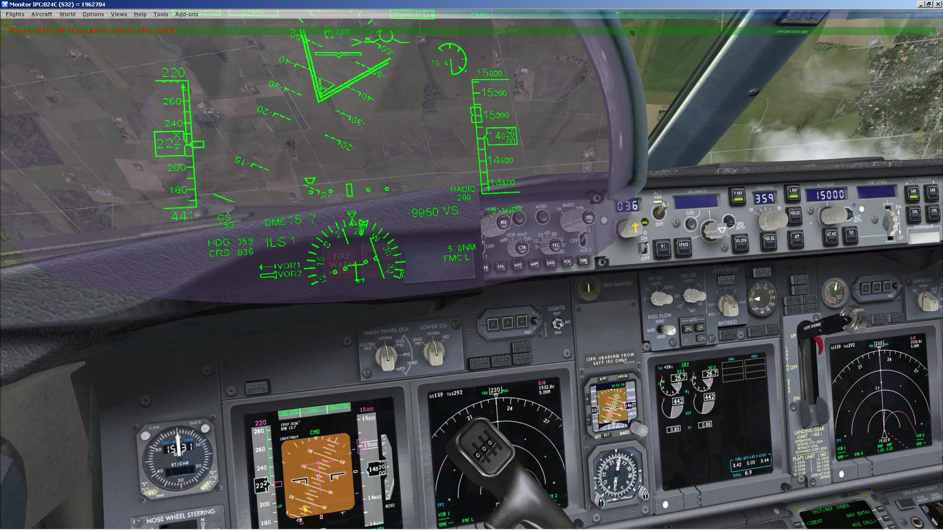Solved)iFly737 HUD - SimForums com Discussion