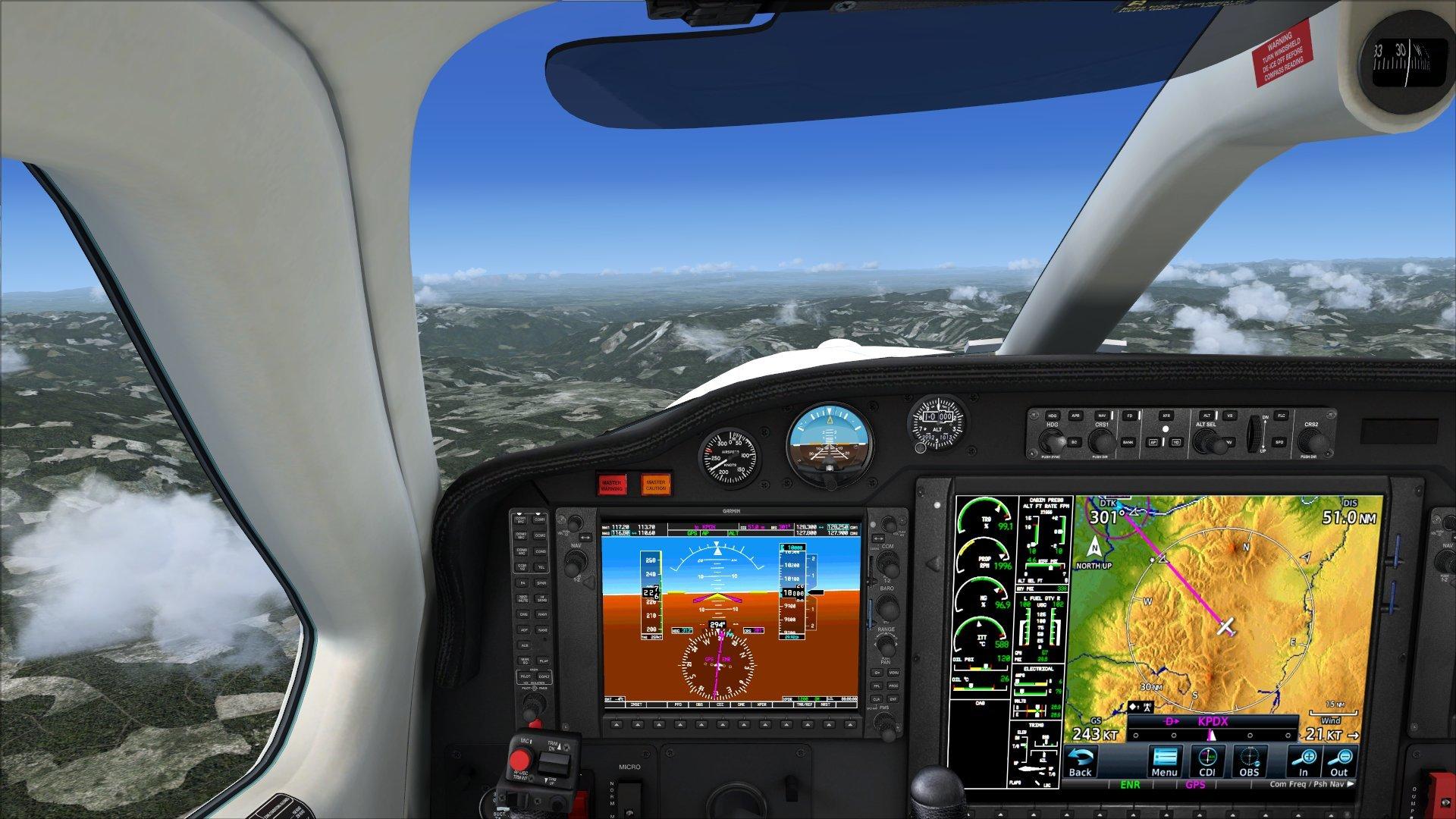 Flight1 GTN 750 in TBM 850 - SimForums com Discussion