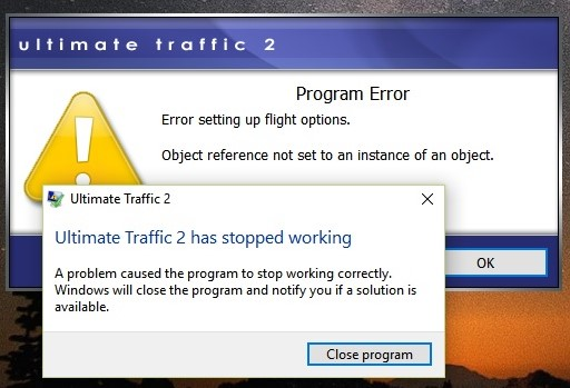 Redirected] Ultimate Traffic 2 error - SimForums com Discussion