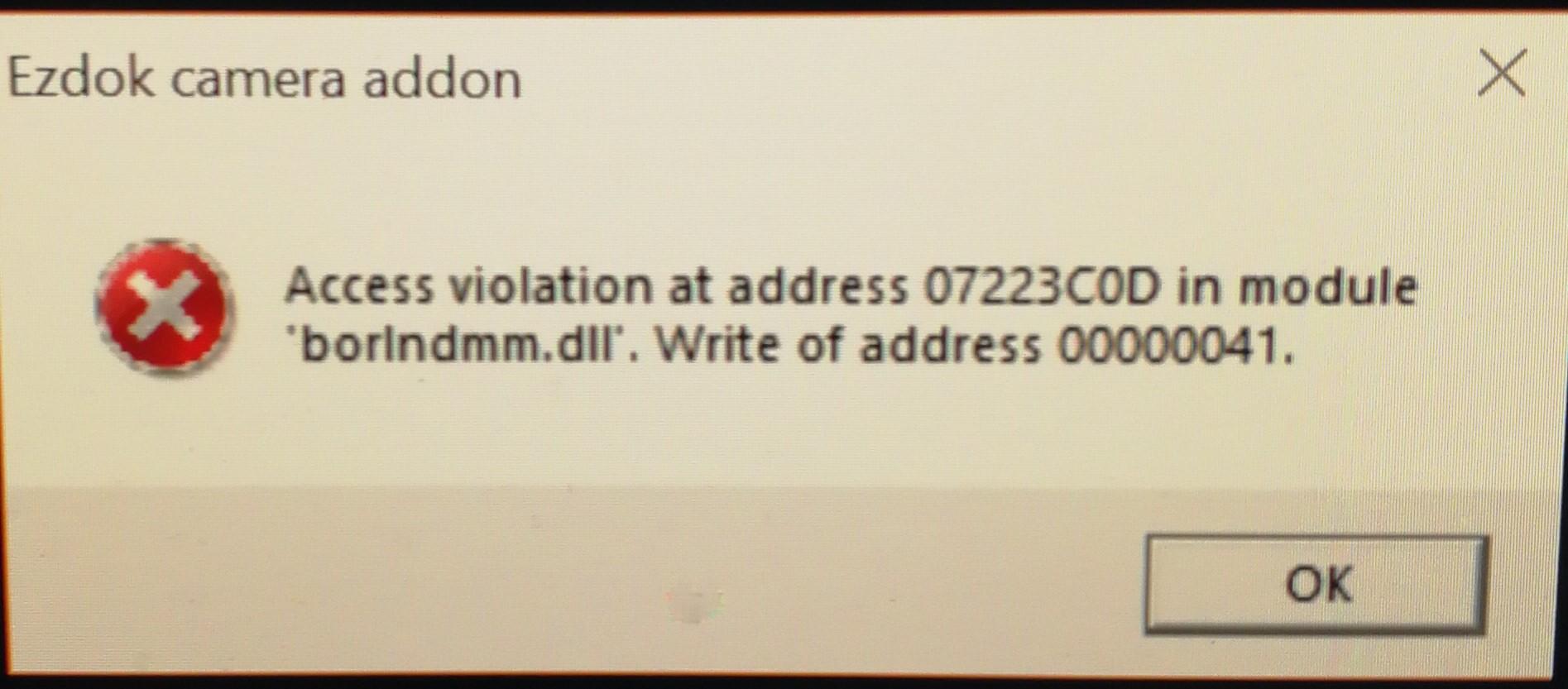 EZCA Pro v3 - access violation - SimForums com Discussion - Page 1